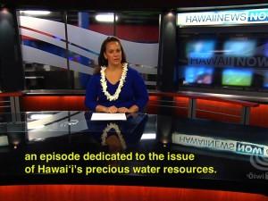 ʻĀhaʻi ʻŌlelo Ola – Water In Hawaiʻi – November 7, 2010