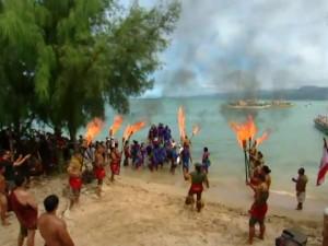 Te Mana o Te Moana – Ceremony