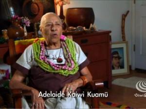 Nā Momi Ho'oheno- Adelaide Kaiwi Kuamū Silva