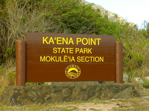 Kaʻena Point Road Designation