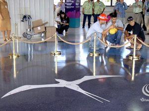 Honolulu Airport Star Compass