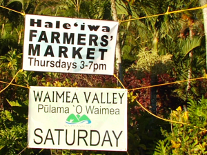 Haleʻiwa Farmer's Market Relocates