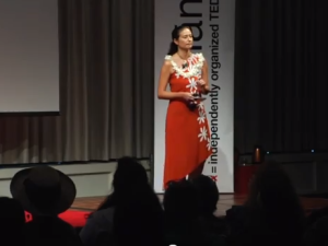 Maka Maoli – Storytelling On A Screen Beyond Stereotypes: Lisette Flanary at #TEDxManoa