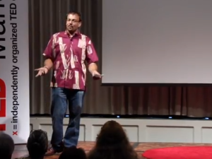 ʻŌiwi TV – The Future of Television: Nā'ālehu Anthony at #TEDxManoa