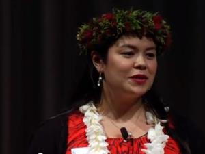 Ola (i) Nā Moʻolelo – Living Moʻolelo: Brandy McDougall at #TEDxManoa