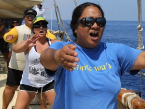Hōkūleʻa Visits Miloliʻi: One of the Last Traditional Fishing Villages