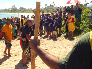 Hōkūleʻa's First Visit to Lāʻie, Oʻahu
