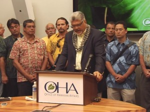 OHA Kamana'opono Crabbe Press Conference