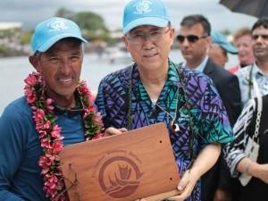 Apia Arrival & UN Secretary-General Onboard Hōkūleʻa