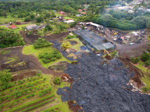 Lava's slow approach is reshaping Hawaii village life