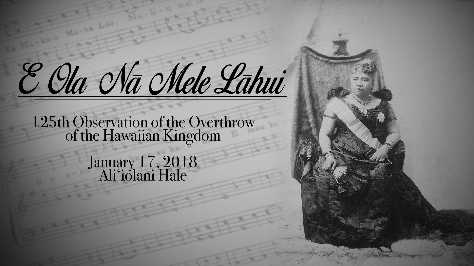 E Ola Na Mele Lahui_Title Plate