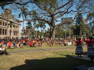 Kū Kiaʻi Mauna Rally at ʻIolani Palace: EXTENDED