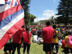 Opposition to TMT at UH Mānoa