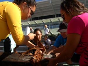 Hawaiian and Aboriginal students fellowship in Sydney