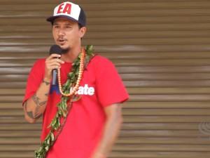 Aloha ʻĀina Unity March | Kahoʻokahi Kanuha Bandstand Speech