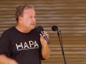 Aloha ʻĀina Unity March | Gary Hooser on GMO and Government