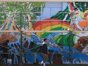 Mele Murals: Kaimuki High School