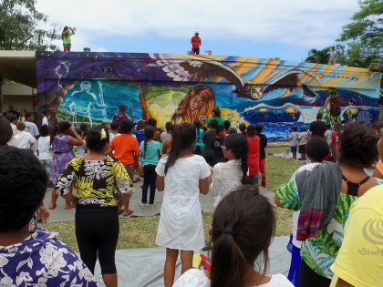Mele Murals: Blanche Pope Elementary