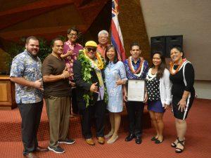 Kalani Peʻa Honored at Hawaiʻi State Capitol
