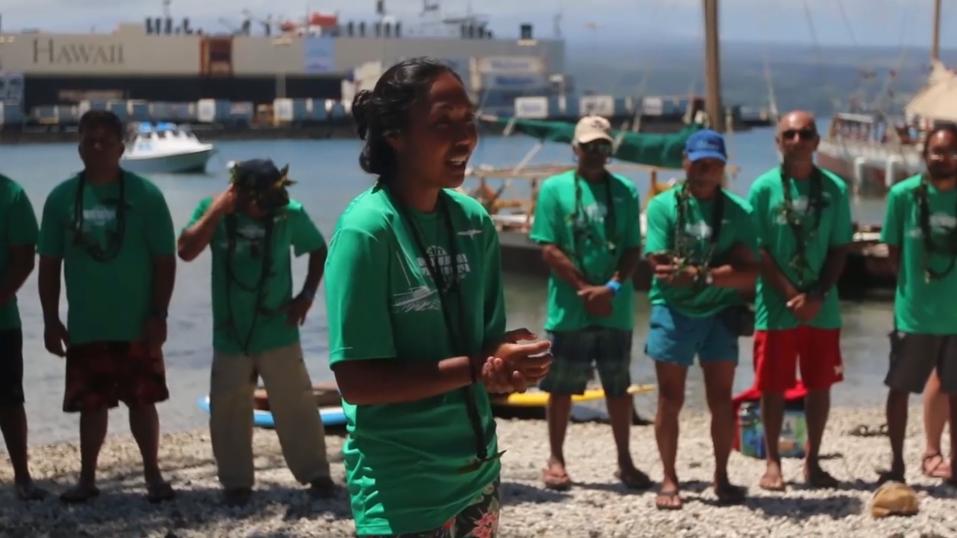 Worldwide Voyage   Hikianalia Departs for Tahiti