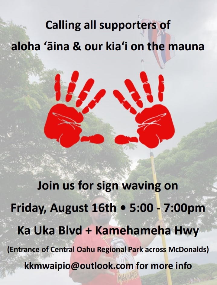 Maunakea Protection Support Events – Active List | ʻŌiwi TV