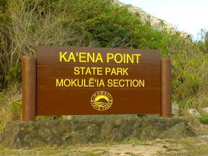 Kaʻena Point Road Designation