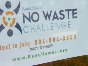 Kanu Hawaiʻi – No Waste Challenge