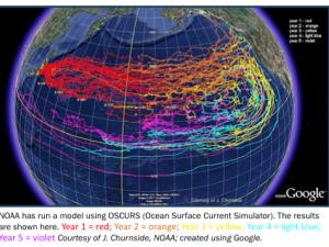 Japan Tsunami Marine Debris Headed to Hawaiʻi.