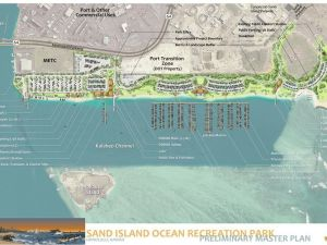 State Response to Sand Island Development Concerns