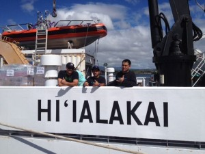 ʻŌiwi TV Aboard NOAA Research Ship to Papahānaumokuakea