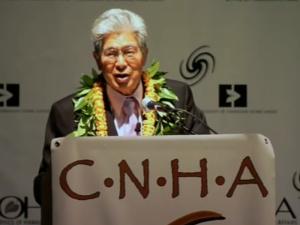 Senator Akaka Speaks at the Native Hawaiian Convention