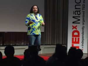 Ma Ka Hana Ka ʻIke – Thinking Before and Knowing Beyond: Aaron Salā at #TEDxManoa