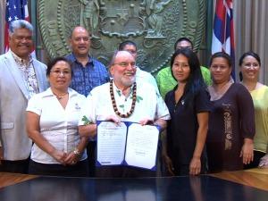 He Mahina Kūhelu ko ka ʻŌlelo Hawaiʻi