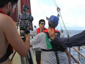 ʻŌiwi TV Waʻa Training