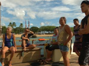 MA'O Organic Farms Connects with the Waʻa
