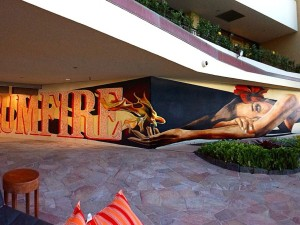 Kamea Hadar Mural at Rum Fire