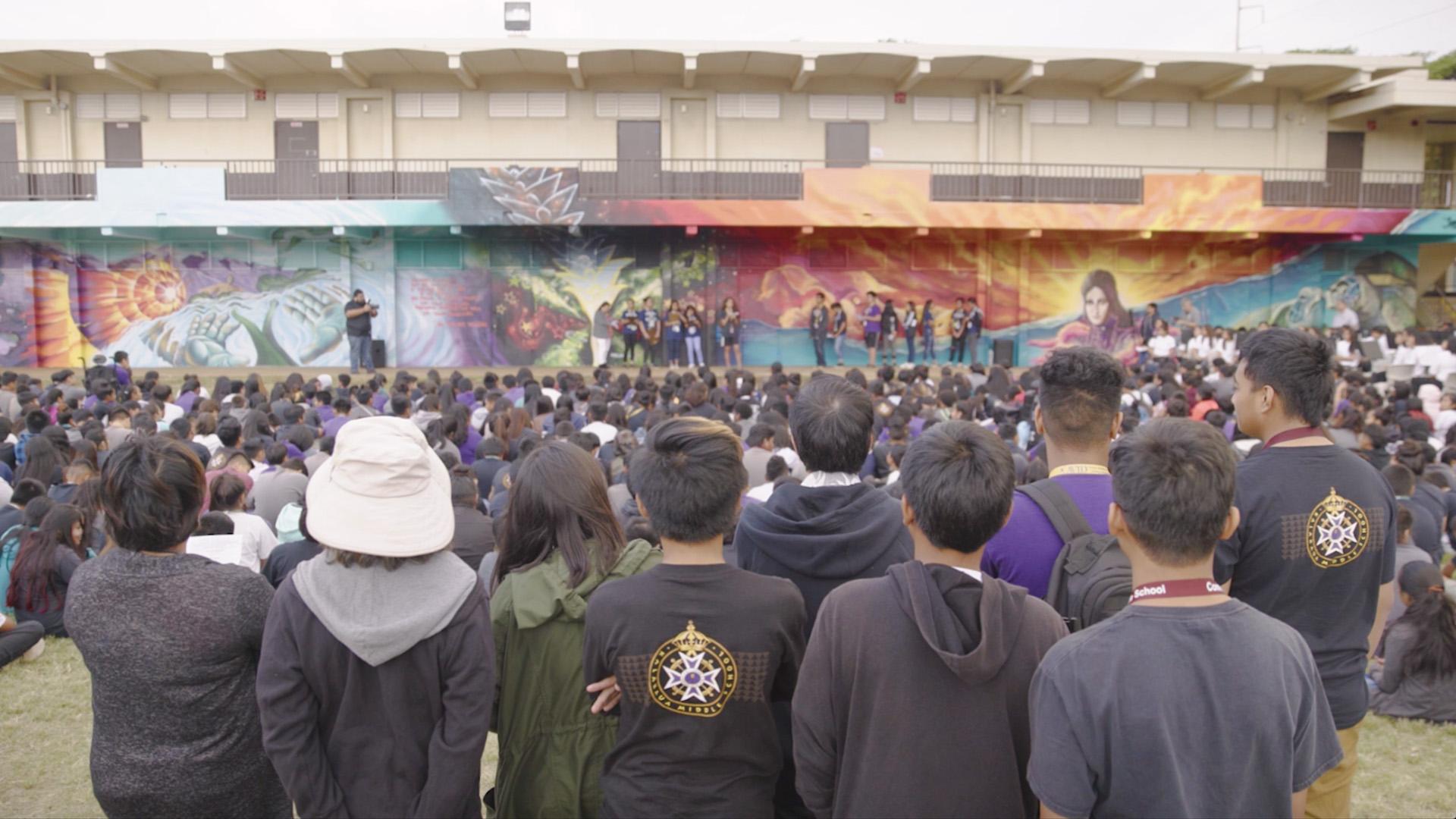 Mele Mural – Kalakaua Middle School