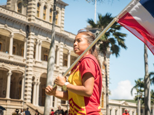 PHOTOS: Kū Kiaʻi Mauna – A Gathering at ʻIolani Palace