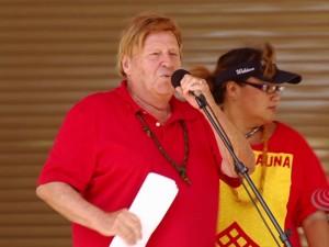 Aloha ʻĀina Unity March   Dr. Kioni Dudley on saving Hoʻopili farm land