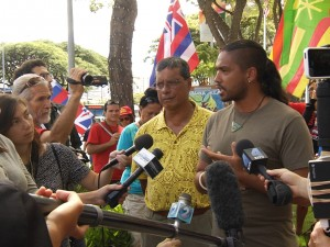 Aloha ʻĀina Invite IAU to Discuss Issues Regarding this Place Before Looking out to Space