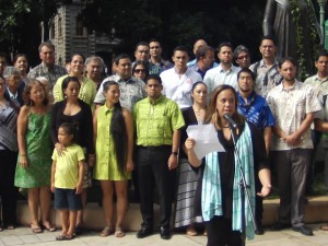 Nā Makalehua Press Conference – November 3, 2015