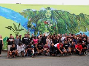 Mele Murals: Castle High School