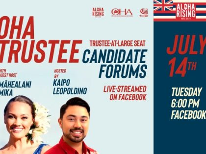 OHA Trustee Candidate Forums – OHA At-Large